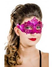 """Maska wenecka """"Mystique"""" - różowa"""