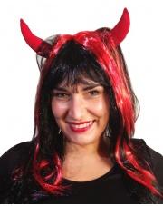 Peruka - Diabeł z rogami
