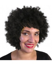 Peruka Afro - Czarne