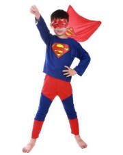 Strój Superman / Hero Super Bohater 120-140 cm.