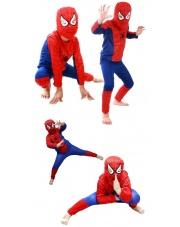 Strój Spiderman - Człowiek Pająk (rozmiary 110-140 cm.)