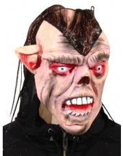 Maska Troll z wyłupiastymi oczami