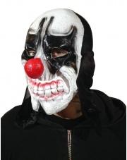 Maska Klaun Joker z wystającymi zębami