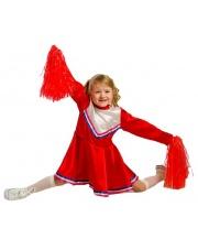 Strój Cheerleaderka M (wiek 4-6)