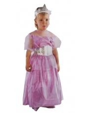 Strój Śpiąca Królewna / Różowa księżniczka 80-104 cm.