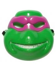 Maska Żółw Ninja - różowa