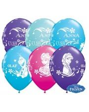 Balon Happy Birthday - Błękitny