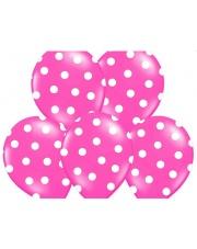 Balon w kropki - różowy