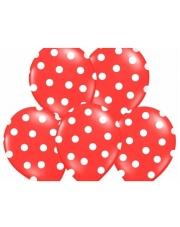 Balon w kropki - Czerwony