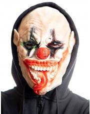 Maska klauna z językiem
