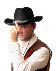 kapelusz kowbojski czarny