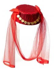 Czapka arabska - czerwona