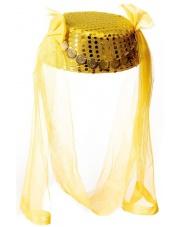 czapka arabska - złota