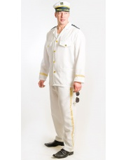 Strój Mężczyzna Kapitan Marynarz L/XL