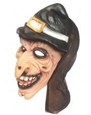 Maska Wiedźmy z czapką
