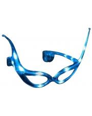 Okulary z niebieskimi ledami