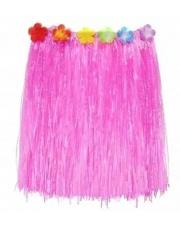 Spódniczka Hawajska Spódnica ALOHA Różowa 55 cm