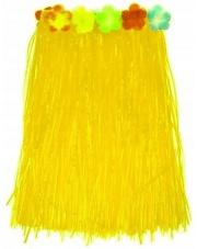 Spódniczka Hawajska Spódnica ALOHA Żółta 75 cm