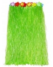 Spódniczka Hawajska Spódnica ALOHA Zielona 75 cm