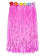 Spódniczka Hawajska Spódnica ALOHA Różowa 75 cm