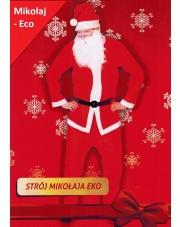 Strój Święty Mikołaj 5 Części S-XL