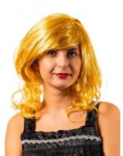 Peruka BLONDYNKA włosy Blondie z Grzywką Scarlet
