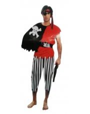 Strój Pirat II z peleryną