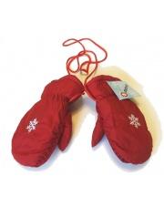 Rękawiczki Jednopalczaste Czerwone