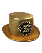 Kapelusz Sylwestrowy Happy New Year -  Złoty