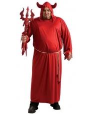 Strój Diabła - czerwony (rozm. Uniwersalny)