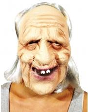 Maska Stary Człowiek ( Babcia / Dziadek )