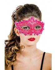 """Maska wenecka """"Queen"""" – różowa"""